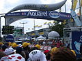 Finish line of the Tour de France in Mulhouse, 2005.JPG