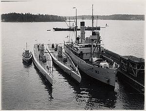 Finnish Navy - Finnish ''Vetehinen''-class submarines