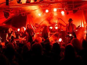 Finntroll - Finntroll perform live at Bilston, Wolverhampton in October 2013.