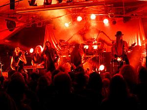Finntroll - Finntroll perform live at Bilston, Wolverhampton in October 2013.