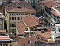 Firenze - Chiesa di Santa Maria Maggiore da campanile duomo.JPG