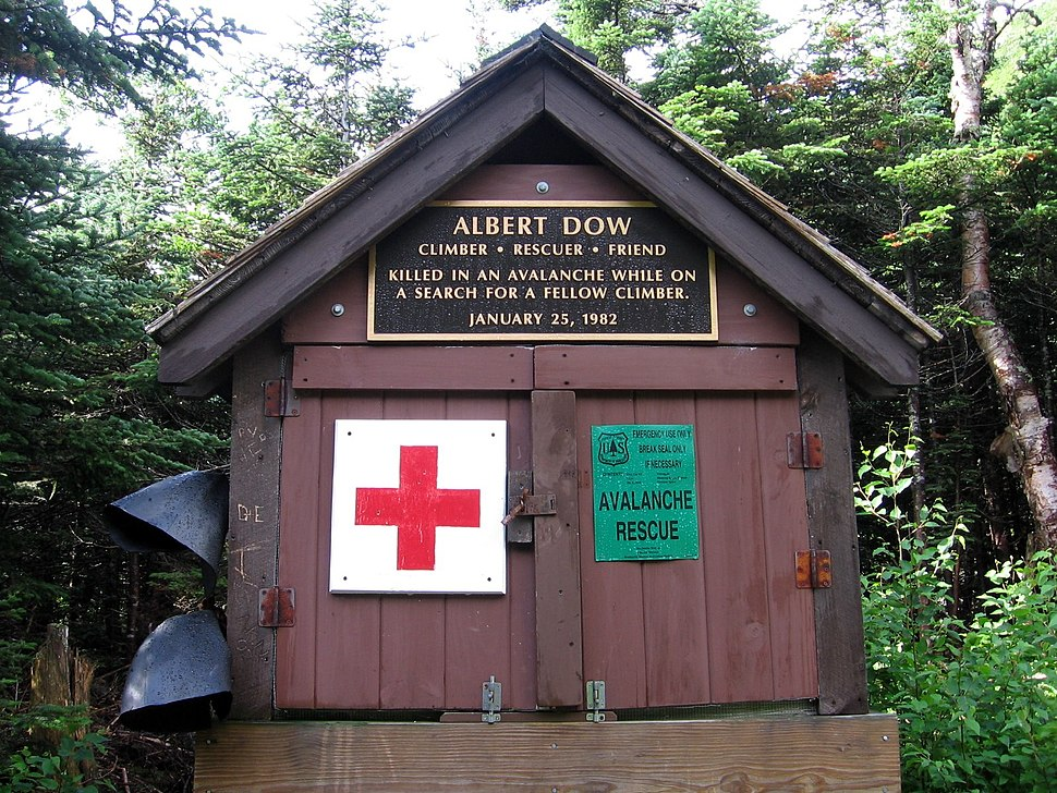 First Aid cache on Mt Washington