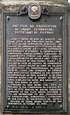 First Diocesan Seminary site historical marker in Manila.jpg