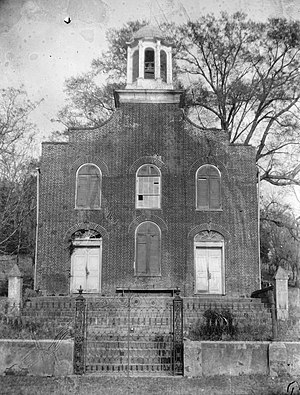 National Register of Historic Places listings in Jefferson County, Mississippi - Image: First Presbyterian Church in Rodney