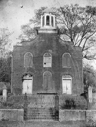 Rodney, Mississippi - Former First Presbyterian Church