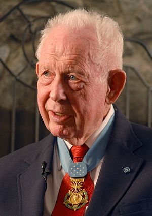Bernard F. Fisher - Fisher during an interview in 2008