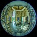 Fisheye lenses-HDR Technique- Tomb of Saadi - Shiraz-Iran آرامگاه سعدی معروف به سعدیه در شیراز- ایران 02 (cropped).jpg