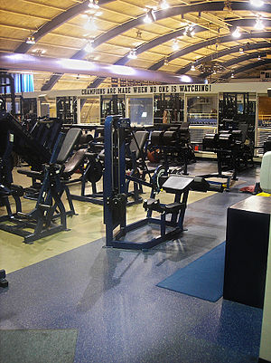 Fitzgerald Field House - Olympic sports training facility