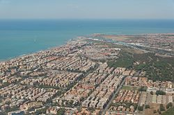 The northern part of Ostia