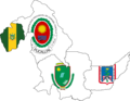 Flag map of provinces of Ucayali.png