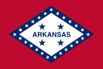 Flag of Arkansas(1923–1924)