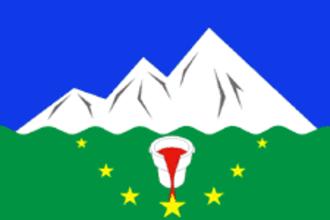 Asha, Russia - Image: Flag of Asha (Chelyabinsk oblast) (2007)