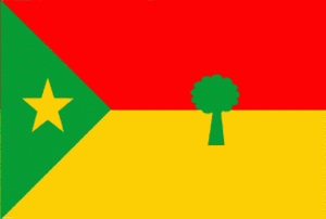 Oromo Liberation Front - Image: Flag of the Oromo Peoples' Democratic Organization