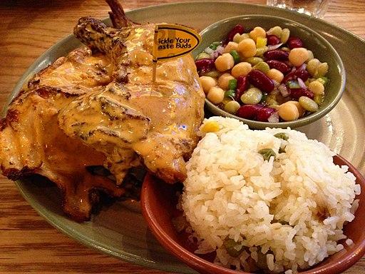 Flame-grilled PERi-PERi chicken