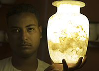 Flickr - DavidDennisPhotos.com - Alabaster Salesman in Luxor.jpg