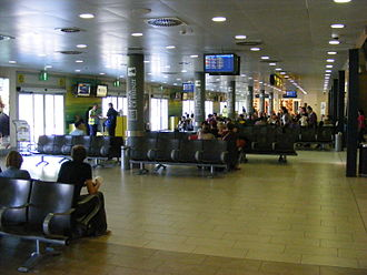 Florence Airport - Departure area at Florence Airport