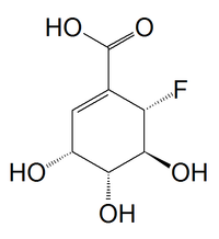 Fluoroshikimic acid.png