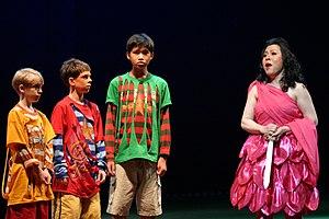 Bangkok Opera - Bangkok Opera's 2006 production of The Magic Flute with Nancy Yuen as Pamina and Will Rhodes, Dominick Gilbert and Soponwit Wangcharoensab as boys