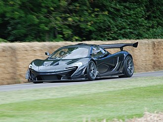 McLaren P1 - The P1 LM at the 2016 Goodwood Festival of Speed