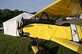 Fokker D.Vll Fat Fokker .80 Replica N2466C LNose SNF 04April2014 (14563301776).jpg