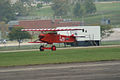 Fokker DVII Ernst Udet Hard Landing 10 Dawn Patrol NMUSAF 26Sept09 (14413330669).jpg