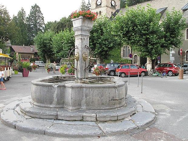 Monument historique à Samoëns
