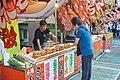 Food stalls, Matsuri festival, Senso-ji, May 2017 1.jpg