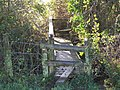 Footbridge on the path from West Stour to Fifehead Magdalen - geograph.org.uk - 1613695.jpg