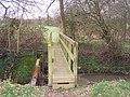 Footbridge towards Great Tilden - geograph.org.uk - 1209472.jpg
