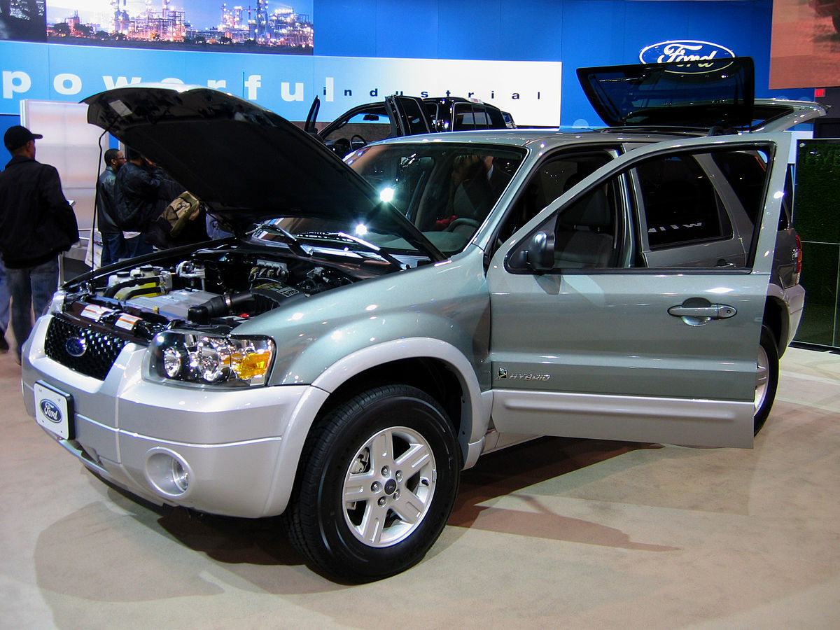 Ford Escape Hybrid Википедия