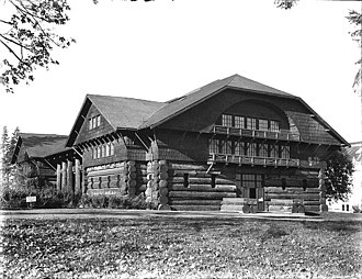 Simon Benson - Forestry Building at the Lewis and Clark Centennial Exposition, Portland