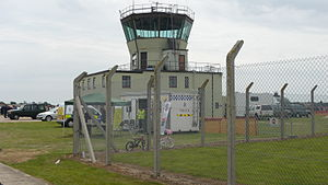 RAF Bentwaters - The ATC tower at the former RAF Bentwaters.