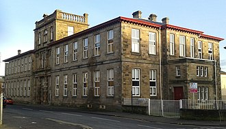 Stonelaw High School - The original Stonelaw Public School / Rutherglen Academy building