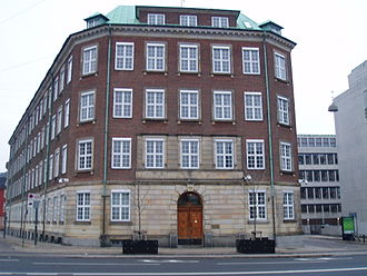 Ministry of Defence (Denmark) - Former Ministry of Defence headquarters prior to 2017