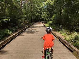 Big Creek Greenway - Image: Forsyth Greenway Section