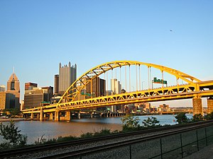 Fort Pitt Bridge - Image: Fort Pitt Bridge 3