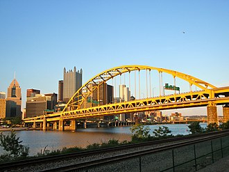 Fort Pitt Bridge - Image: Fort Pitt Bridge 3