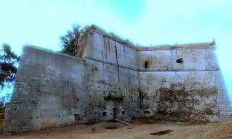Antonio Ferramolino - Forte Gonzaga in Messina, which was designed by Ferramolino in 1540