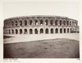Fotografi på amfiteatern Les Arènes i Nîmes - Hallwylska museet - 107235.tif
