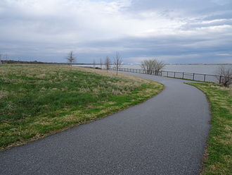 Fox Point State Park - Walking path at Fox Point State Park.