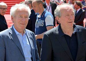 Dardenne brothers - The Dardenne Brothers at the 2015 Cannes Film Festival.