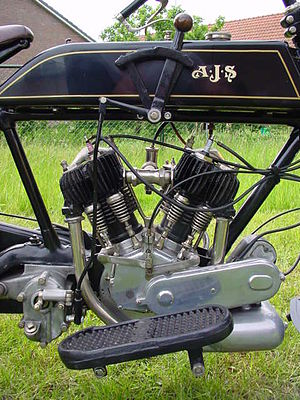 AJS Model D - AJS Model D engine