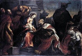 Francisco Camilo - Adoration of the Kings, Museo de Bellas Artes de Bilbao.