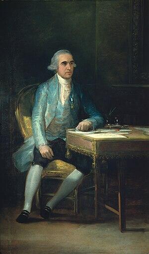 Francisco Saavedra de Sangronis - Portrait of Francisco Saavedra de Sangronis by Goya