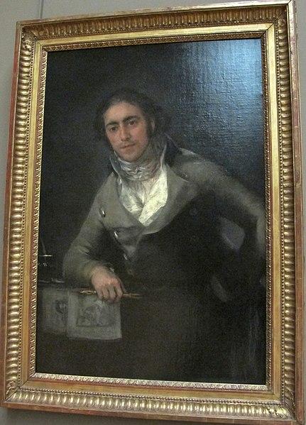 File:Francisco de goya y lucientes, ritratto maschile detto don evaristo perez de castro, 1790 ca..JPG