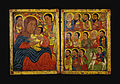 Fre Seyon - Diptych with Mary and Her Son Flanked by Archangels, Apostles and a Saint - Walters 3612 - Open.jpg