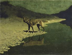 Frederic Remington - Moonlight, Wolf.jpg