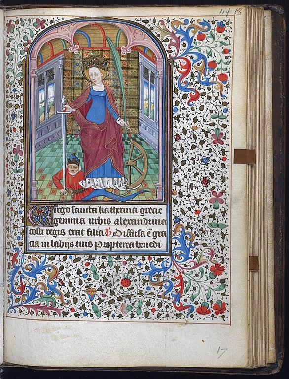 średniowieczna miniatura