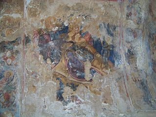 Cchrakara vienuolyno freska