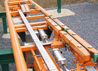 Brake run - Friction brakes on a steel roller coaster